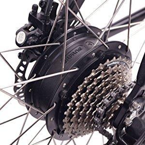 Bicicleta eléctrica de montaña ncm prague