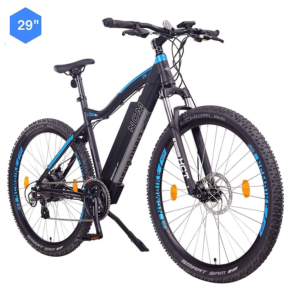 Bicicleta eléctrica ncm moscow 48 V, ncm moscow plus, ncm moscow precio