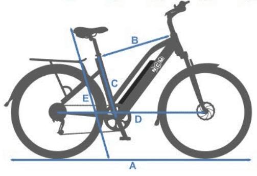 ebike NCM Milano 48 V barata y de calidad, mejor bicicleta electrica calidad precio