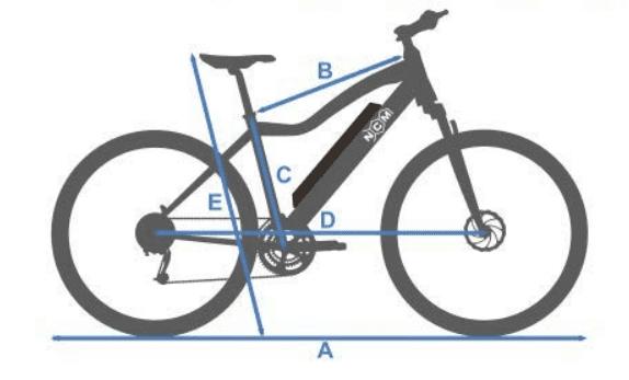 eBike NCM Moscow de 48 V, ncm moscow precio, bicicleta electrica moscow, mcm moscow