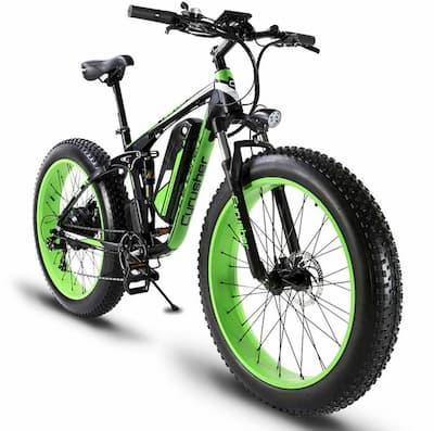 Bici eléctrica mini fat bike