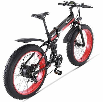 Bicicleta eléctrica fat bike 500w