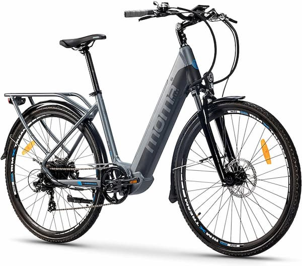moma bikes bicicleta eléctrica urbana ebike-28 pro