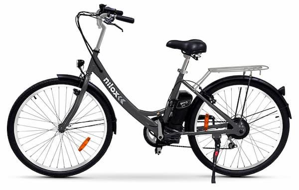 nilox x5 bicicleta eléctrica unisex adulto negro talla única